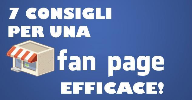 fan page efficace