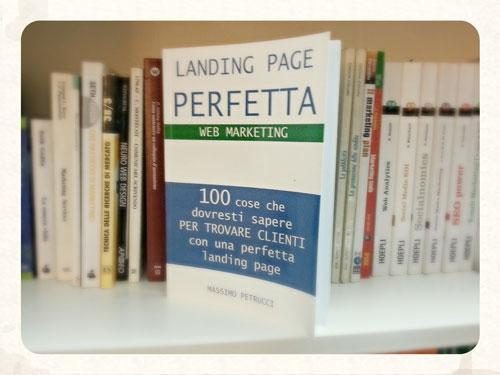 landing page libro ed ebook su Amazon