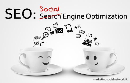 ottimizzazione seo social media