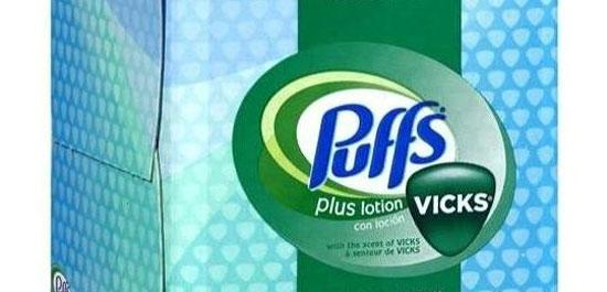 procter & gamble puffs marketing sensoriale