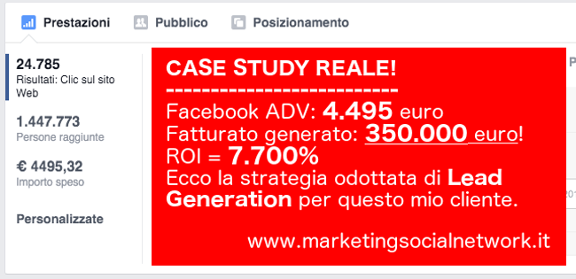 facebook advertising case study