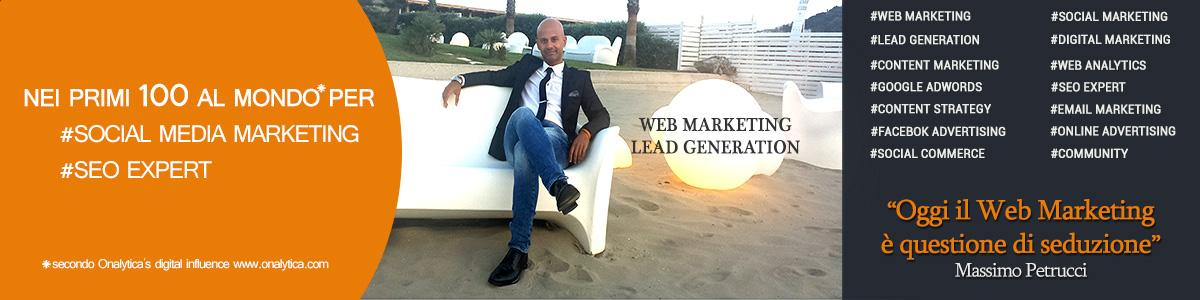 Web Marketing & Lead Generation | Consulente Massimo Petrucci