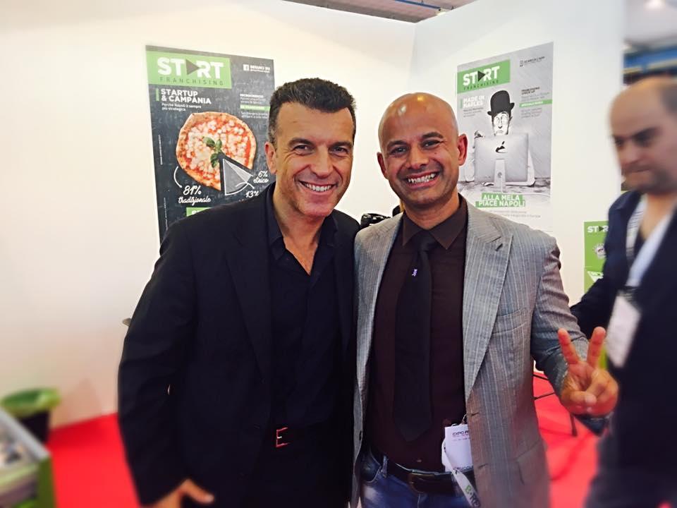 Roberto Re con Massimo Petrucci