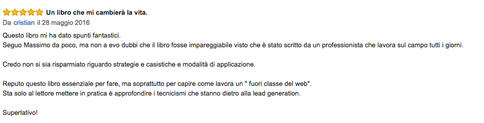 Lead Generation Opinioni 28 Maggio