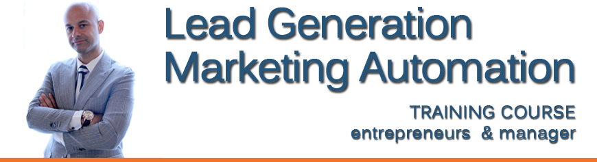 Corso Lead Generation e Marketing Automation