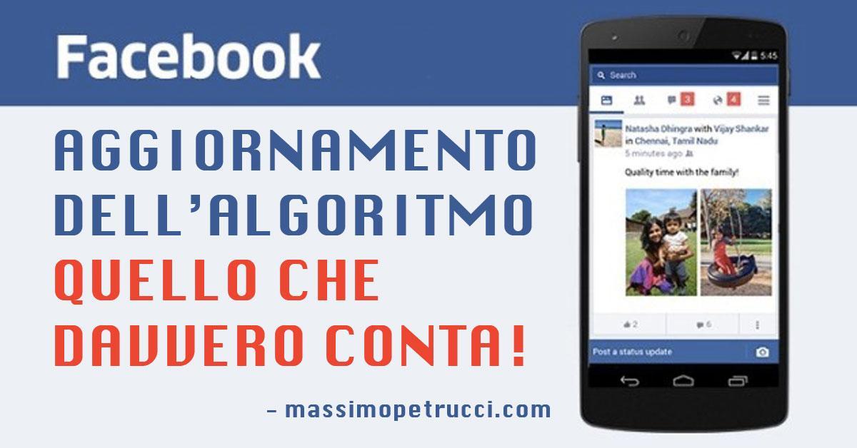 facebook aggiornamento luglio 2016