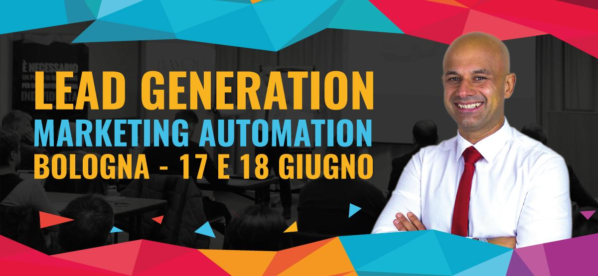 Corso Lead Generation Bologna