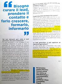 articolo Lead Generation su Start Franchising giu2017
