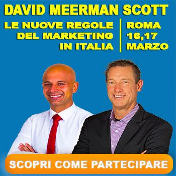 David Meerman Scott Corso Roma