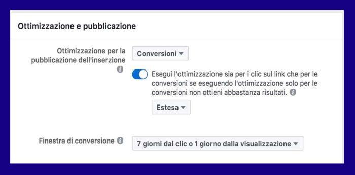 Campagna a Conversione su Facebook