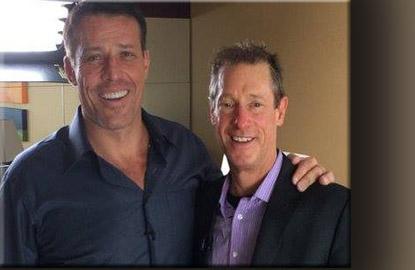 Tony Robbins e David Meerman Scott