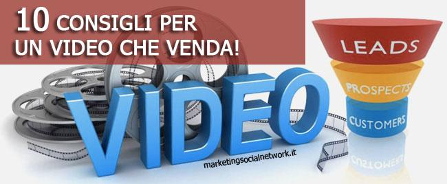 web video marketing 10 consigli per un video che venda