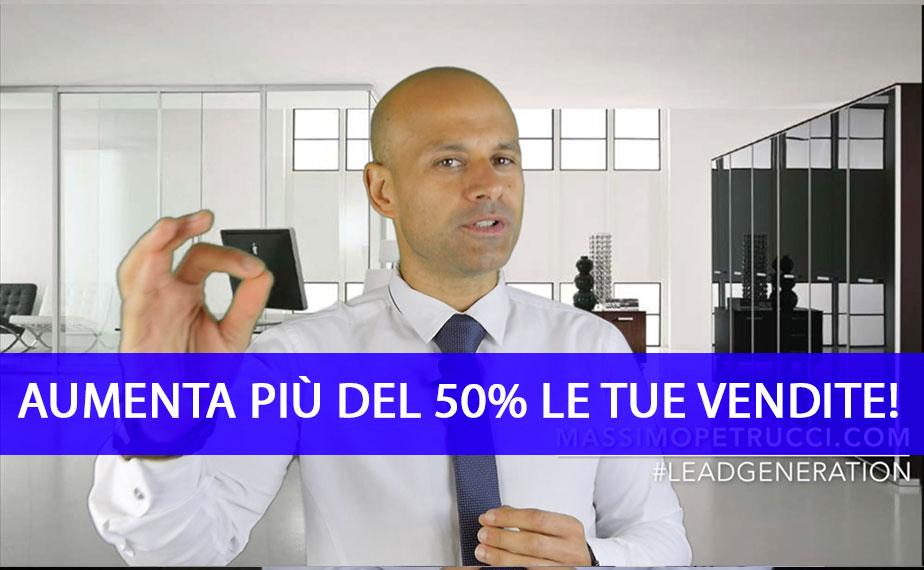 Video Lead Generation Vendere il 50% in più